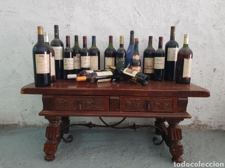 Coleccionismo de vinos y licores: Botella de vino Ondarre 1996 - Foto 4 - 218721905
