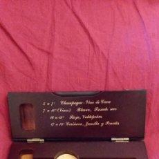 Coleccionismo de vinos y licores: TERMÓMETRO DE VINOS. Lote 219156765