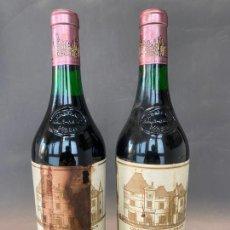 Coleccionismo de vinos y licores: CHATEAU HAUT BRION , 1980 , LOTE DE 2 BOTELLAS. Lote 219211487