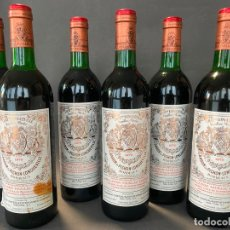 Coleccionismo de vinos y licores: CHATEAU LONGUEVILLE , 1979 , LOTE DE 6 BOTELLAS. Lote 219211818