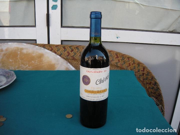 Coleccionismo de vinos y licores: BOTELLA VINO CHIVITE GRAN RESERVA 1996 SELECCIÓN 125 - Foto 3 - 219245270