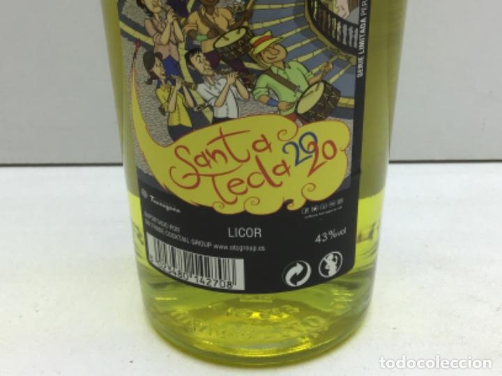 Coleccionismo de vinos y licores: BOTELLA CHARTREUSE SANTA TECLA 2020 - EDICION ESPECIAL 43° - CHARTREUSE TARRAGONA - Foto 4 - 219470546