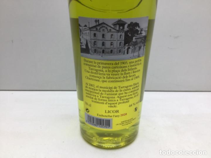 Coleccionismo de vinos y licores: BOTELLA CHARTREUSE SANTA TECLA 2020 - EDICION ESPECIAL LA TAU 44º- CHARTREUSE TARRAGONA - Foto 4 - 219471075
