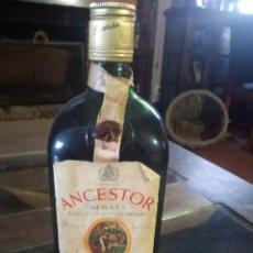 Coleccionismo de vinos y licores: BOTELLA ANTIGUA WHISKY ANCESTOR DEWARS RARE OLD SCOTCH PTO IMPORTACION REF SOT 30. Lote 220713523
