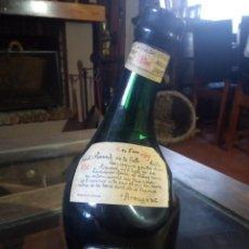 Coleccionismo de vinos y licores: BOTELLA ANTIGUA ARMAGNAC SAINT VIVANT DE LA SALLE REF SOT 32. Lote 220714092