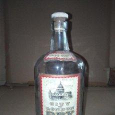 Coleccionismo de vinos y licores: BOTELLA GINEBRA DRY GIN CITY OF LONDON INGLATERRA LEER VER ENVIO. Lote 220861032