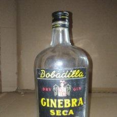 Coleccionismo de vinos y licores: BOTELLA GINEBRA SECA DRY GIN BOBADILLA JEREZ CADIZ LEER VER ENVIO. Lote 220868105