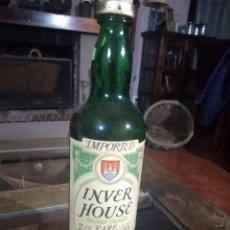 Coleccionismo de vinos y licores: ANTIGUA BOTELLA INVER HOUSE GREEN PLAID RARE SCOTCH WHISKY. SOT 66. Lote 221011591
