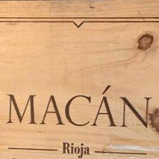 Coleccionismo de vinos y licores: MACAN 2009 CAJA SEIS BOTELLAS. Lote 221256468