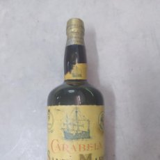 Coleccionismo de vinos y licores: ANTIGUA BOTELLA BRANDY CARABELA SANTA MARIA DE OSBORNE. Lote 221396606