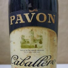 Coleccionismo de vinos y licores: PAVON CABALLERO FINO SHERRY. Lote 221735386