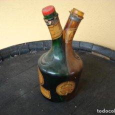 Coleccionismo de vinos y licores: BOTELLA DOBLE DE BENEDICTINE. Lote 221987035