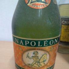 Coleccionismo de vinos y licores: BOTELLA BRANDY NAPOLEÓN DUC DE MARTET SIN USO - IDEAL COLECCIONISTAS -. Lote 222064805
