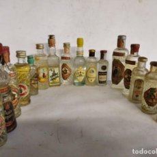 Collectionnisme de vins et liqueurs: LOTE DE 16 BOTELLINES DE ANÍS. VER FOTOS. Lote 222072248