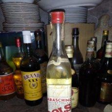 Coleccionismo de vinos y licores: BOTELLA DE MARRASQUINO BOLS-PRECINTO 4 PTS. Lote 222396591