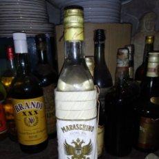 Coleccionismo de vinos y licores: BOTELLA DE MARASCHINO BARDINET-PRECINTO 4 PTS. Lote 222396701
