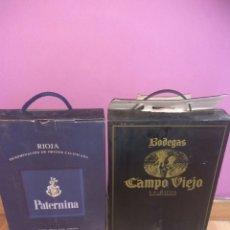 Coleccionismo de vinos y licores: 2 CAJAS DE VINO PATERNINA Y CAMPO VIEJO.RIOJA.. Lote 222571617
