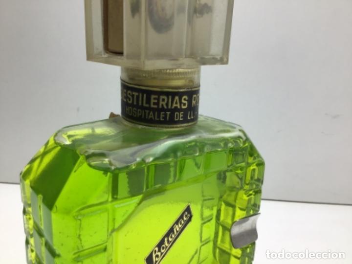Coleccionismo de vinos y licores: BOTELLA DE PEPERMINT - BOTAÑAC - DESTILERIAS ROGINE ,S.A - HOSPITALET DE LLOBREGAT - Foto 4 - 225019566