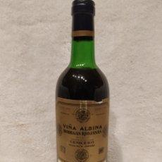 Coleccionismo de vinos y licores: BOTELLA VINO VIÑA ALBINA 1970 MUY BUENA AÑADA. Lote 225057201