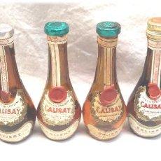 Coleccionismo de vinos y licores: COLECCIÓN BOTELLINES CALISAY DESTILERÍAS MOLLFULLEDA FERROQUINA ARENYS, TODOS DIFERENTES. Lote 245454000