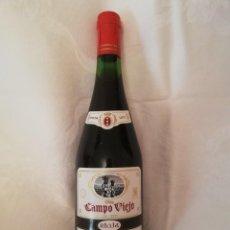 Coleccionismo de vinos y licores: LOTE DE 4 BOTELLAS DE VINO BODEGAS CAMPO VIEJO -1970-CRIANZA. Lote 226491980