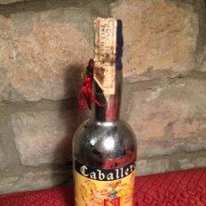 Coleccionismo de vinos y licores: ANTIGUA BOTELLA DE LICOR MARCA PONCHE CABALLERO SI ESTRENAR AÑOS 60-70. Lote 226850205