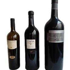 Coleccionismo de vinos y licores: BOTELLAS GIGANTES DE VINO VACIAS / PRECINTADAS PARA COLECCIÓN. Lote 227238960