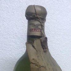 Coleccionismo de vinos y licores: BOTELLA DE VINO FRANCÉS TAUZIA. CALVET. SANT EMILION 1956. Lote 229129910
