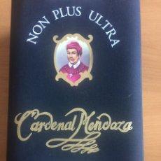 Colecionismo de vinhos e licores: BOTELLA LICORERA NUMERADA 1397 ESTUCHE JOYA BRANDY CARDENAL MENDOZA COLECCIÓN.. Lote 230976860