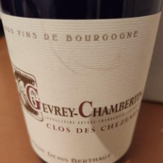 Coleccionismo de vinos y licores: VINO BOURGOGNE , GEVREY CHAMBERTIN. Lote 231096430