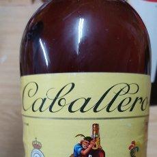 Coleccionismo de vinos y licores: BOTELLA BRANDY . DECANO. LUIS CABALLERO. IMPUESTO DE 4 PTS, 1 LITRO. Lote 232577555