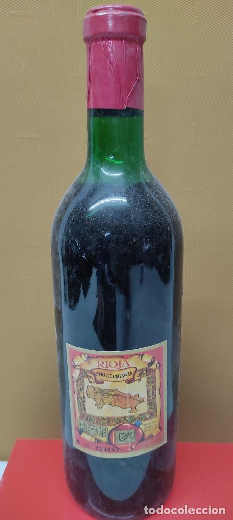 Coleccionismo de vinos y licores: ANTIGUA BOTELLA VINO CLARET DE BODEGAS FRANCO ESPAÑOLAS.RIOJA TINTO 3 AÑOS - Foto 8 - 233482170