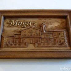 Coleccionismo de vinos y licores: CUADRO BODEGAS MUGA - HARO - RIOJA ALTA. Lote 234347475