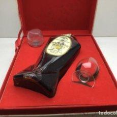Collezionismo di vini e liquori: ESTUCHE - BOTELLA DE COGNAC FINE CHAMPAGNE NAPOLEON RESERVE EDMOND DUPUY & CO - FRANCIA. Lote 258217910