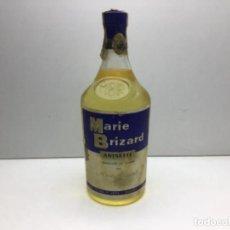 Coleccionismo de vinos y licores: ANTIGUA BOTELLA MARIE BRIZART - ANISETTE PRECINTO DE 80 CTS. Lote 234938815