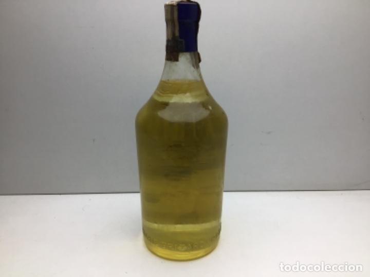 Coleccionismo de vinos y licores: ANTIGUA BOTELLA MARIE BRIZART - ANISETTE PRECINTO DE 80 cts - Foto 5 - 234938815