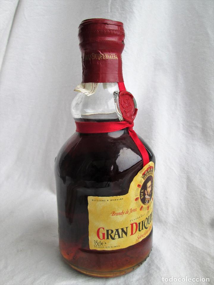 Coleccionismo de vinos y licores: BRANDY GRAN DUQUE DE ALBA SOLERA GRAN RESERVA - Foto 3 - 235615415