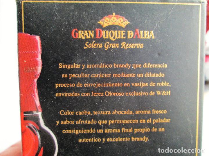 Coleccionismo de vinos y licores: BRANDY GRAN DUQUE DE ALBA SOLERA GRAN RESERVA - Foto 6 - 235615415