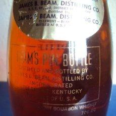 Coleccionismo de vinos y licores: (LI-210100)JIM BEAM - BEAMS PIN BOTTLE - 6 YEAR OLD WHISKY MARCA: JIM BEAM. Lote 236323575