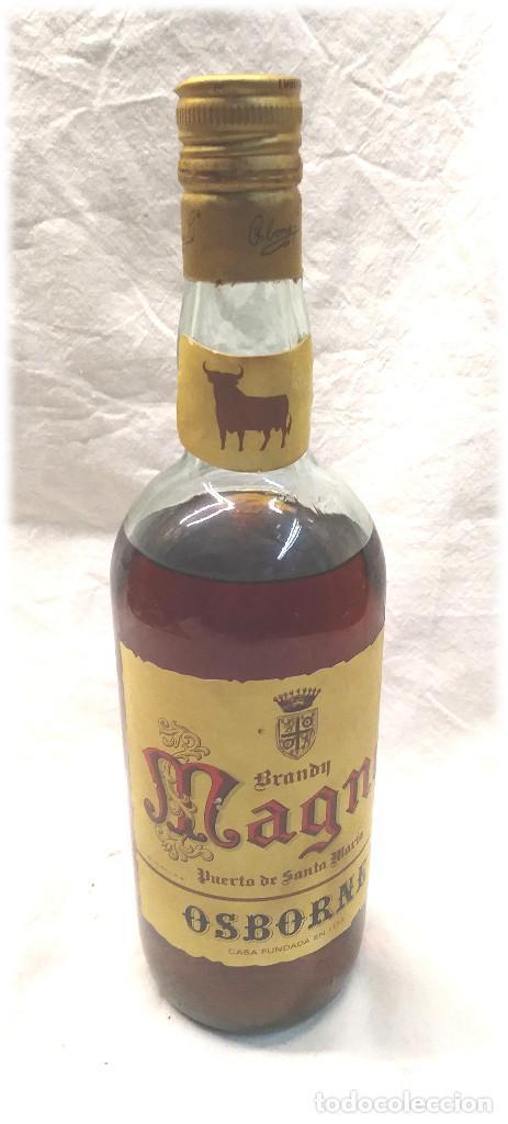 MAGNO BRANDY DE OSBORNE PUERTO SANTA MARIA (Coleccionismo - Botellas y Bebidas - Vinos, Licores y Aguardientes)