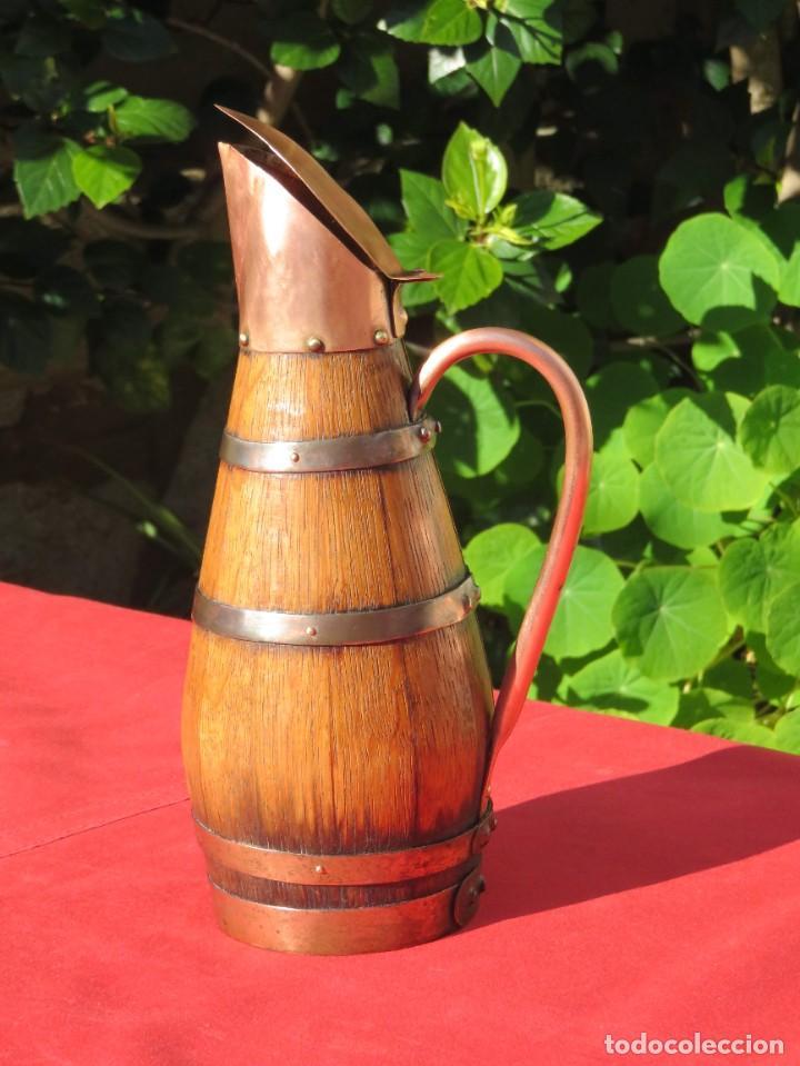 JARRA VINO (Coleccionismo - Botellas y Bebidas - Vinos, Licores y Aguardientes)
