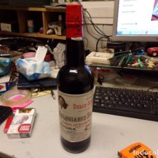 Coleccionismo de vinos y licores: PERFECTA BOTELLA VINO MELQUIADES SAENZ , MOGUER, ANDALUCIA. Lote 236508520