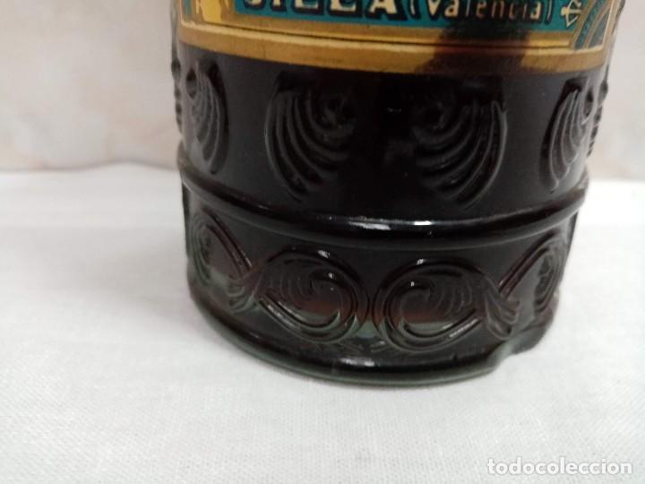 Coleccionismo de vinos y licores: Botella 1 litro Anis Rios Seco,José Rios Francisco Rios Silla (Valencia) años 50 - Foto 8 - 236509580