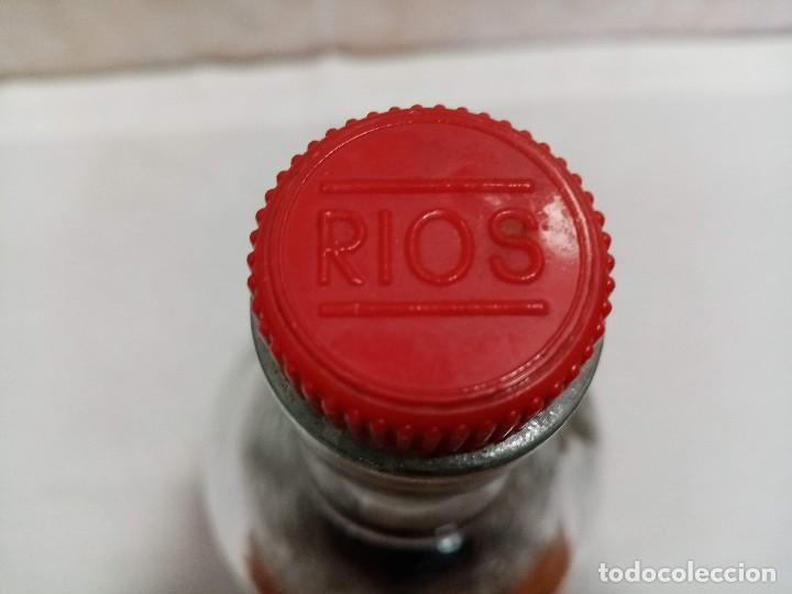 Coleccionismo de vinos y licores: Botella 1 litro Anis Rios Seco,José Rios Francisco Rios Silla (Valencia) años 50 - Foto 16 - 236509580