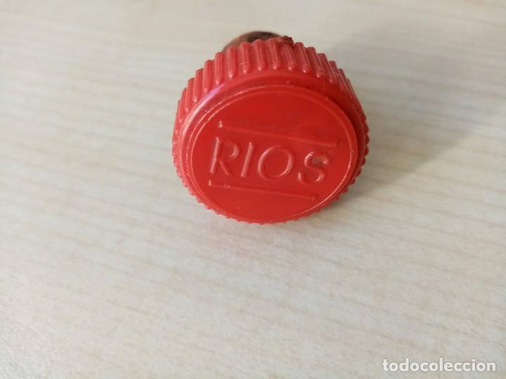 Coleccionismo de vinos y licores: Botella 1 litro Anis Rios Seco,José Rios Francisco Rios Silla (Valencia) años 50 - Foto 19 - 236509580