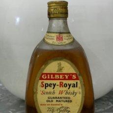 """Coleccionismo de vinos y licores: WHISKY ESCOCÉS """" GILBEY'S SPEY-ROYAL SCOTCH WHISKY """". Lote 237000050"""