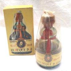 Coleccionismo de vinos y licores: BRANDY GRAN DUQUE DE ALBA BOTELLIN. Lote 237002560