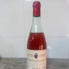 Coleccionismo de vinos y licores: ROSADO MARQUÉS DE MURRIETA AÑOS 70. BOTELLA DE VINO DE RIOJA.. Lote 237620475