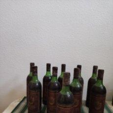 Coleccionismo de vinos y licores: VINO TINTO RIOJA MARQUÉS DE CÁCERES GRAN RESERVA 1975 10 BOTELLAS. Lote 238378625