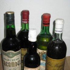 Collectionnisme de vins et liqueurs: LOTE DE 5 BOTELLAS DE VINO SIN FECHA DEFINIDA.. Lote 236230290